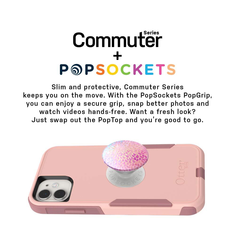 PETAL POWER Bundle: OtterBox COMMUTER SERIES Case for iPhone 11 Pro - + PopSockets PopGrip - BALLET WAY