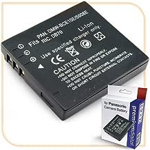 PremiumDigital DMC-FS3 Replacement Battery for Panasonic Lumix Camera Black