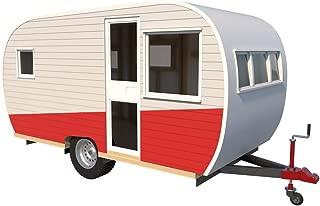 15' Teardrop Camper Trailer - Plans DIY Tear Drop Camper RV Build Your Own NEW