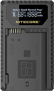 NITECORE UNK1 Nitecore Unk1 En-El14 Dual Slot USB Nikon Charger, Youth-Unisex