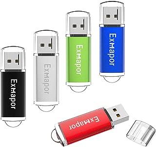 4GB 4G USB 2.0 Flash Memory Thumb Stick Jump Storage Drive Fold Swivel Pen GV