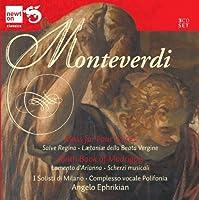 モンテヴェルディ:合唱作品、マドリガルと歌曲集