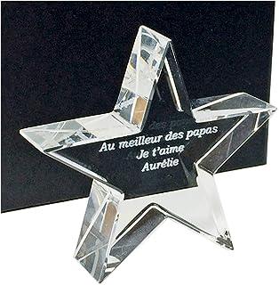 Mon Cadeau en verre - Trofeo de Estrella óptica -