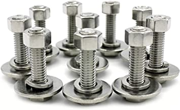 weldable nuts and bolts