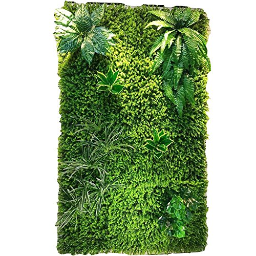 WYGG-Decoración de Muebles Pared de Fondo - Pared de Planta Artificial, Pared de Flores de Boda, Pantalla Tridimensional Decoración de Pared de Techo (4 Estilos para Elegir) /& (Color : 02)