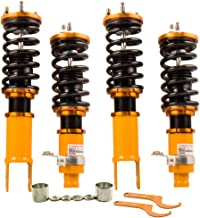 Coilovers for Honda Civic 96-00/Acura Itegra 1994-2001/Civic CR-X 88-91 Suspension Spring Strut Shock Absorber with Adjustable Damper