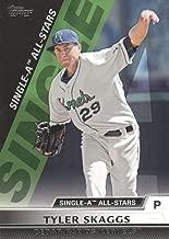 2011 Topps Pro Debut Single-A All Stars #SA16 Tyler Skaggs Cedar Rapids Kernels MLB Baseball Card NM-MT