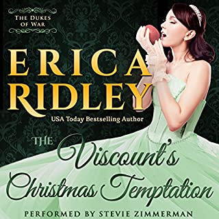 The Viscount's Christmas Temptation audiobook cover art