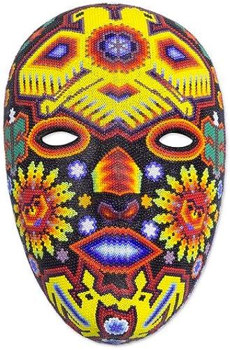 NOVICA 395.229,1  Dualit der G er Wickelarmband Maske, multiFarbe