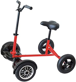Amazing Toys Open Box Never Used Hover Seat Scooter Bike/Transform Your Hoverboard into A Electric Scooter/Electric Bike (Black)