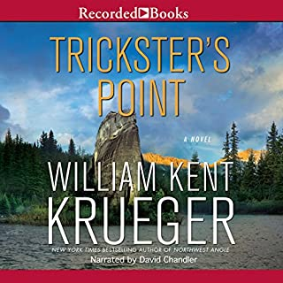 Trickster's Point audiobook cover art