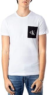 Calvin Klein Men's MONOGRAM POCKET SLIM S/S T-Shirt