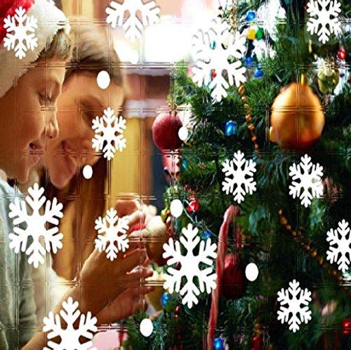 Vovotrade® Autocollants de Fenêtre Murale Angel Snowflake Christmas Xmas Vinyl Décoration Décoration Art