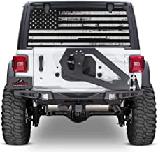 XPLORE OFFROAD - Jeep Wrangler American Flag Rear Window Decal (Perforated)