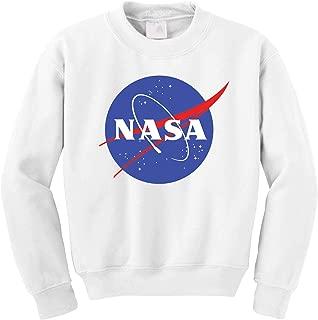 NASA Meatball Logo Worm Crewneck Sweatshirt Sweater Pullover - Unisex Crew