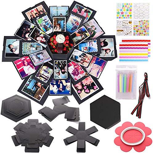 Koogel Explosion Box Set, Album Geschenkbox, schwarz
