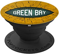 Green Bay Football - Sports Fans - PopSockets Grip and Stand for Phones and Tablets