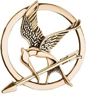 LAVALINK Los Juegos del Hambre Broche Aves Flecha Logotipo Distintivo De La Joyería De La Vendimia De La Manera De Animale...