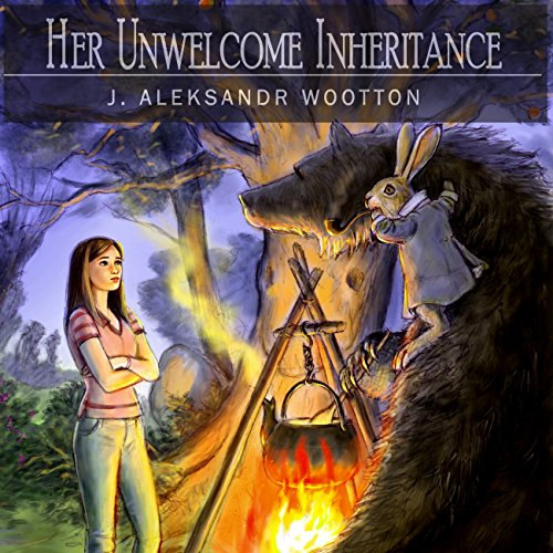 Her Unwelcome Inheritance audiobook cover art