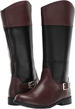 84bd6d9b2ad Michael michael kors bromley flat boot black nappa leather stretch ...