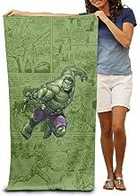 "Cute Hulk 51"" X 31"" Soft Lightweight Absorbent for Bath Swimming Pool Yoga Pilates Picnic Blanket Towels"