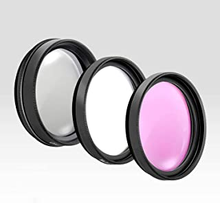 77MM Lens Filter Kit by Aookay Photo, Includes 77MM FLD Filter, 77MM CPL Filter, 77MM UV Filter, (UV, Polarizer Filter, Fl...