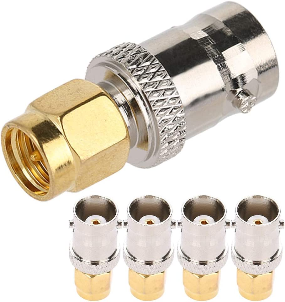 Durable RF Outlet SALE Adapter Very popular! SMA Male to Female Easy BNC Fre Install Radio