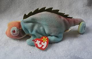 Ty Beanie Baby - Iggy The Iguana (Tye-Dyed w/ Spikes)