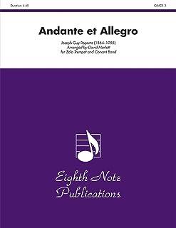 Andante Et Allegro Score