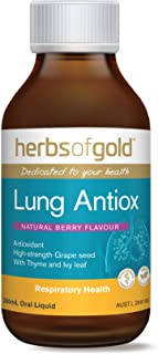 Vegan Lung Detox - Breathe Easier & Deeper - Lung Healing & Clearing - Clean Your Lungs - Anti-Inflammatory - Clear Coughs & Sleep Like a Baby - TGA Listed - Made in Australia - Berry Flavour 6.7oz