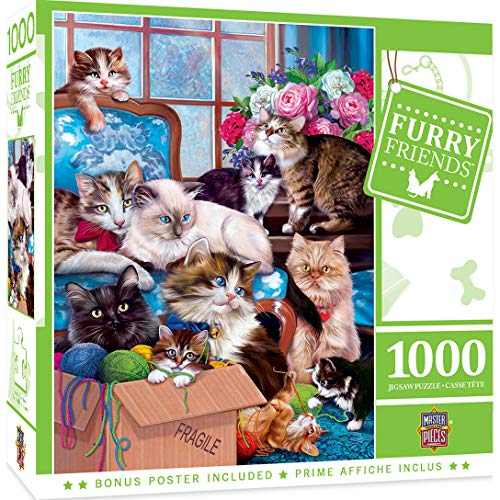 1000 piece puzzles of cats - 2