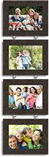 Art Street 'Pearl Drop' Hanging Photo Frame (Wood, 75 cm x 22 cm x 2 cm, Black)