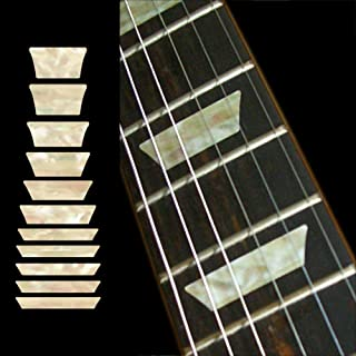 Fretboard Markers Inlay Sticker Decals for Guitar & Bass - Dish Trapezoid Les Paul - AWP