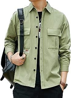 [Corelagu(コアラージュ)] チェスト ポケット シャツジャケット アウター 長袖 カジュアル 春 秋 ファッション メンズ