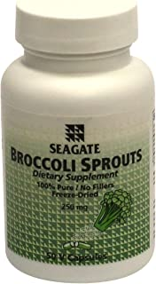 Seagate Products Broccoli Sprouts 250 mg 50 Capsules