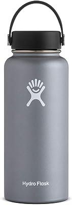 Hydroflask, Graphite Flex Cap Wide Mouth 32oz, 1 Count