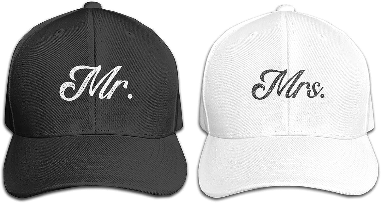 CEZEHAJI Mr and Mrs Hats Couple Hat Mens Womens Baseball Cap Wedding Gifts