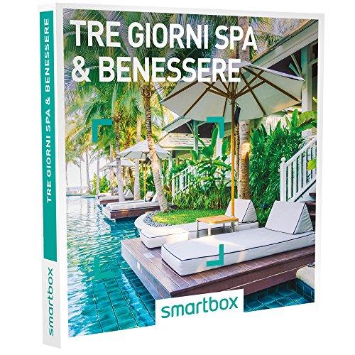 smartbox - Cofanetto Regalo - Tre Giorni Spa & Benessere di Lusso - 67 soggiorni con Benessere in Hotel 3* o 4*