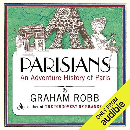 Parisians audiobook cover art