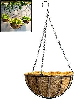 Hotel para Plantas Al Aire Libre,Decoraciones Colgantes del Hogar,Casa,Jadin Seasaleshop Cultivadores Cesta Colgante Cestos Palma de Coco para Colgar Restaurante
