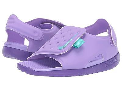 Nike Kids Sunray Adjust 5 (Infant/Toddler) (Atomic Violet/Hyper Grape/Hyper Grape) Girls Shoes