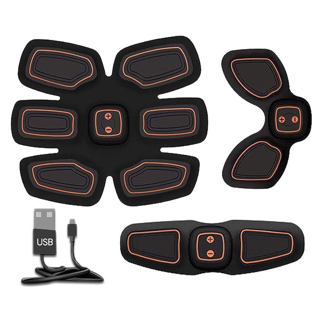法律効率的に売上高腹筋トレーナーフィットネストレーニングギア、リモコン付きEMS筋肉刺激装置 - USB充電式究極腹部刺激装置 - 男性&女性用筋肉トナー (Size : B)