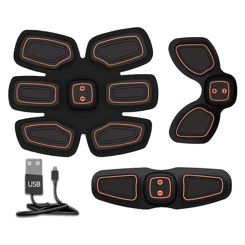 まもなく突破口不信腹筋トレーナーフィットネストレーニングギア、リモコン付きEMS筋肉刺激装置 - USB充電式究極腹部刺激装置 - 男性&女性用筋肉トナー (Size : B)