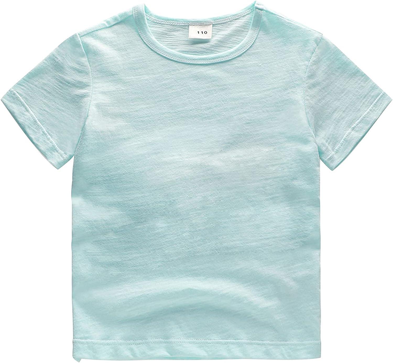 YXQYRXS Toddler Baby Boy Girl Letter Sh Cheap mail order shopping Sleeve Short Top Print T Memphis Mall