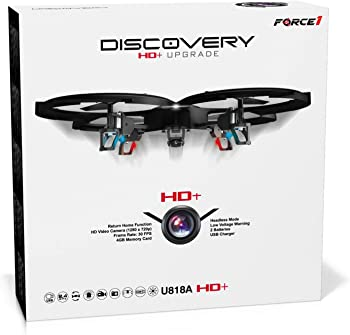 Force1 U818A Discovery HD Remote Control Drone