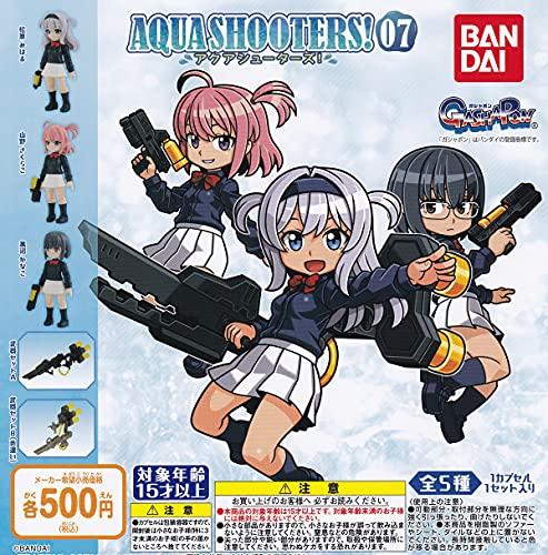 AQUA SHOOTERS! 07 (アクアシューターズ! 07) [全5種セット(フルコンプ)] ガチャガチャ カプセルトイ