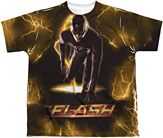 Bolt - CW`s The Flash TV Show Front Print Sports Fabric Youth T-Shirt