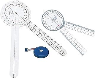EMI EGM-427TM 12 8 and Tape Measure Goniometer Set - 3 Pieces