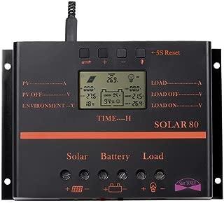Sun YOBA 80A Solar Charge Controller Solar Regulator Solar Controller with USB Port