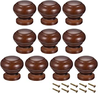 uxcell Round Pull Knob Handle 25mm Dia Cabinet Furniture Bedroom Kitchen Drawer 10pcs